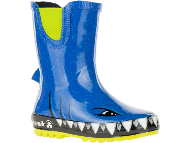 Kamik Sharky Rubber Boots Kinder strong blue